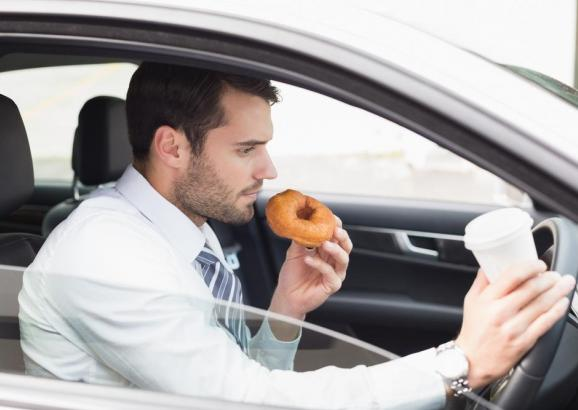 Do you tend to multitask while driving?