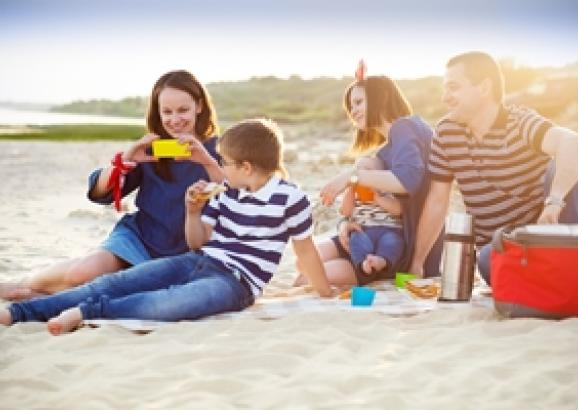 Enjoy a day at the beach this summer without worrying about your car.