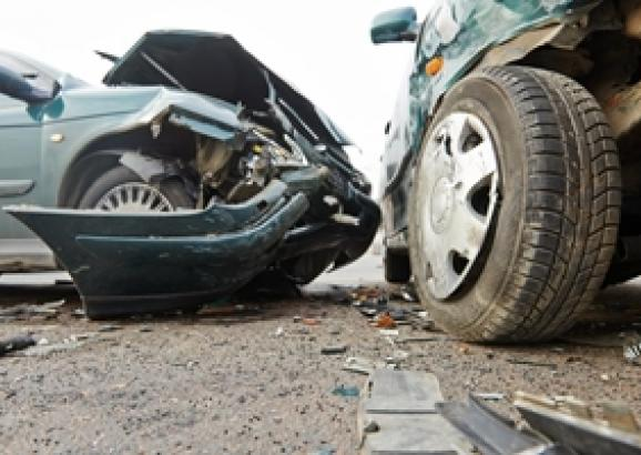 How can you tell when a car has been involved in a collision?